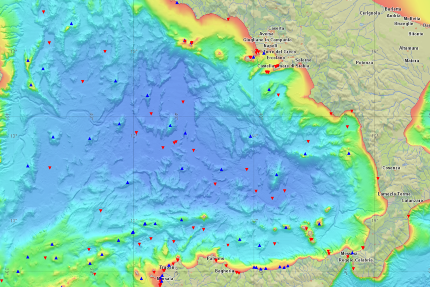 Bathymetry in Carmenta Server
